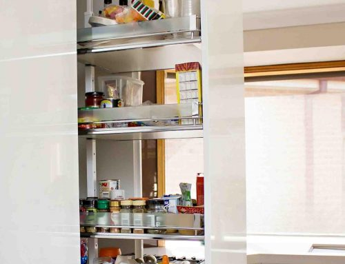 Hidden Storeage Solutions by All Style Joinery